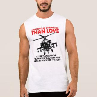 El amor es camiseta divertida fuerte