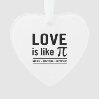 El amor es como el pi