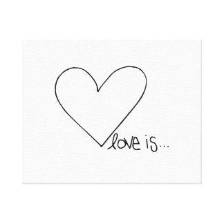 El amor es corazón