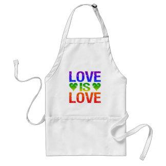 El amor es delantal del amor - elija el estilo