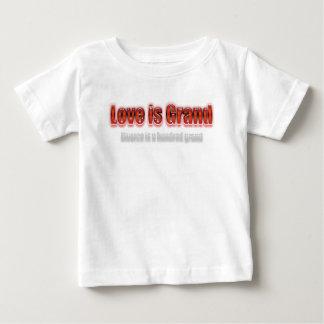 El amor es divorcio magnífico es cientos rojos tshirts