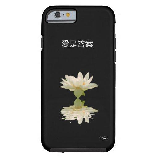 EL AMOR ES EL DISEÑADOR CHINO DEL ARA DE LA FUNDA DE iPhone 6 TOUGH