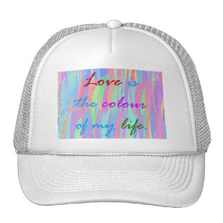 El amor es el gorra del color