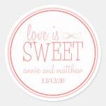 El amor es etiquetas dulces (se ruboriza/la tierra