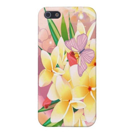 el amor es flor iPhone 5 cárcasa