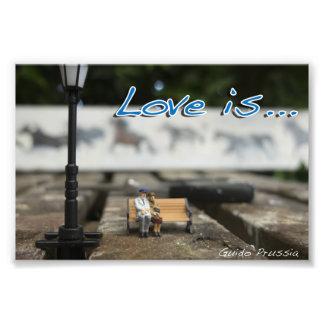 El amor es cojinete