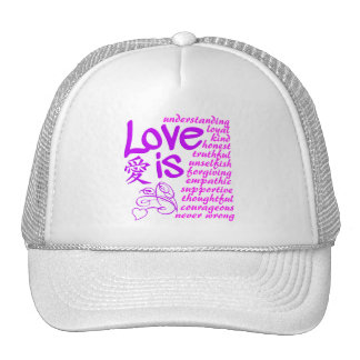 El amor es… gorra - elija el color