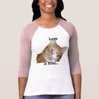 El amor es jersey de béisbol ciego camisetas