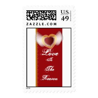 El amor es la razón sellos