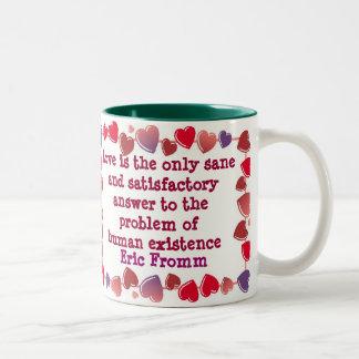 El amor es la taza de la respuesta