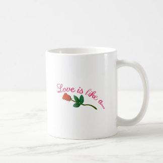 El amor es Lika A Taza De Café