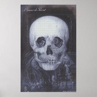 El amor es muerte posters