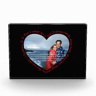 El amor es negro y rojo pacientes del corazón de l