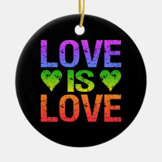 El amor es ornamento del amor adorno para reyes
