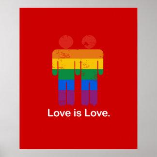 EL AMOR ES PAR DEL GAY DEL AMOR IMPRESIONES