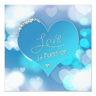 El amor es para siempre - invitación de la