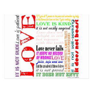 El amor es… postales