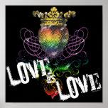 El amor es posters del amor