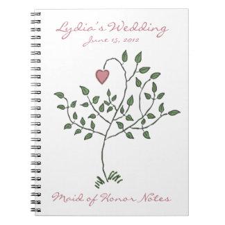 El amor es profundamente criada arraigada del cuad cuadernos