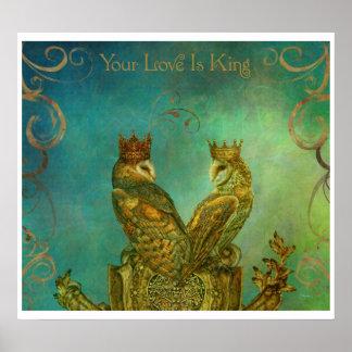 El amor es rey Poster