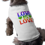 El amor es ropa del mascota del amor ropa perro