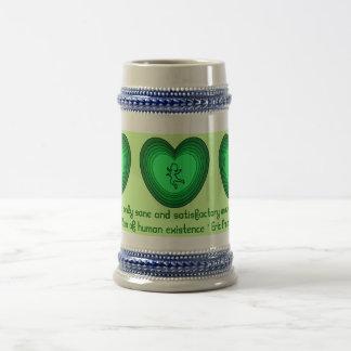 El amor es stein sano taza