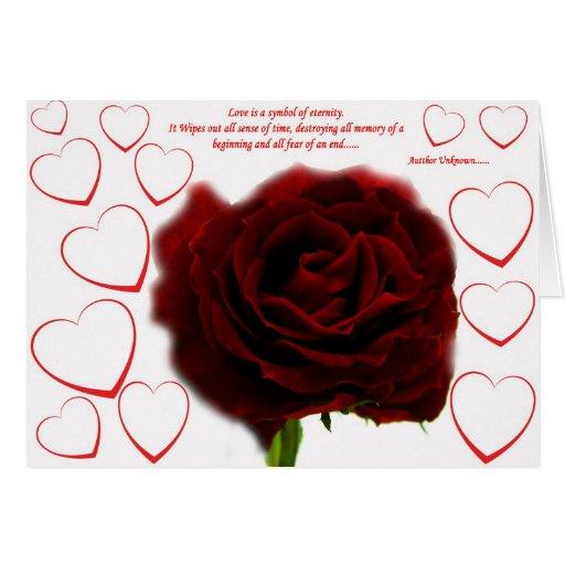 El amor es ..... tarjeta de felicitación