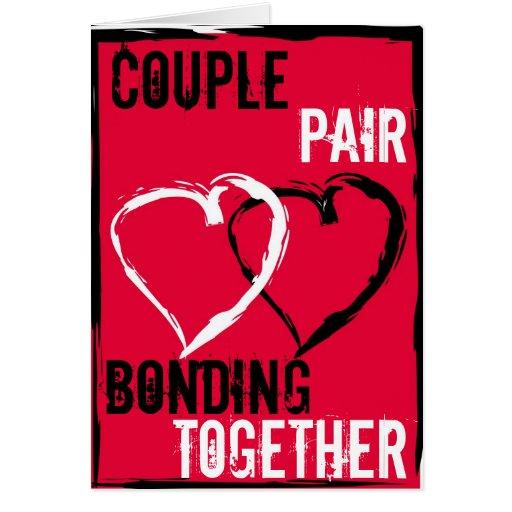 El amor es tarjeta de la unidad