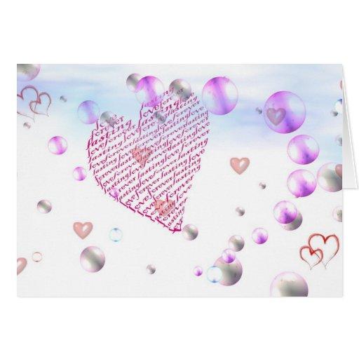 El amor es…. tarjetas