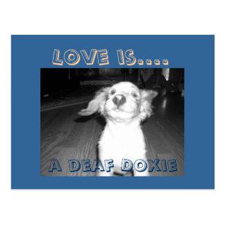 El amor es…. tarjetas postales