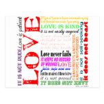 El amor es… tarjetas postales