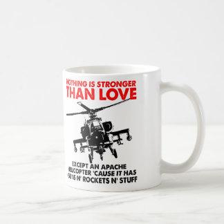 El amor es taza divertida fuerte