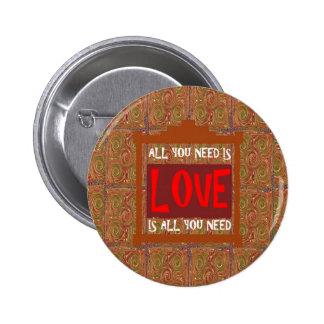 El amor es TODO lo que usted necesita - decir de Pin