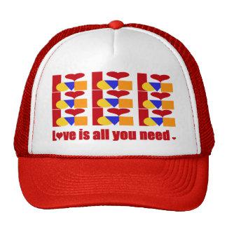 El amor es todo lo que usted necesita gorro