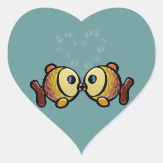 El amor es todo lo que usted necesita colcomanias de corazon