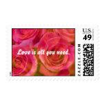 El amor es todo que usted necesita el sello