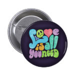 El amor es todo usted la necesidad II Pin Redondo 5 Cm