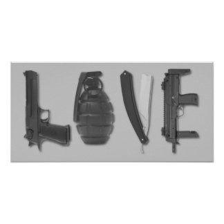 El amor es un arma posters