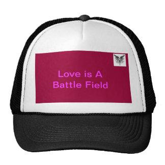 El amor es un campo de batalla gorro de camionero