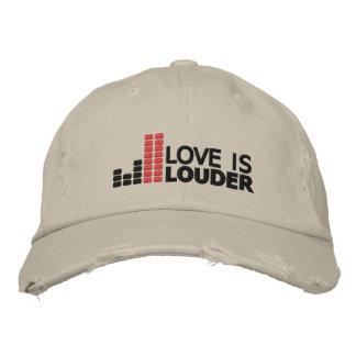 El amor es un gorra más ruidoso gorras bordadas