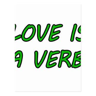 El amor es un verbo postales
