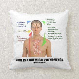 El amor es una fisiología del fenómeno químico cojín