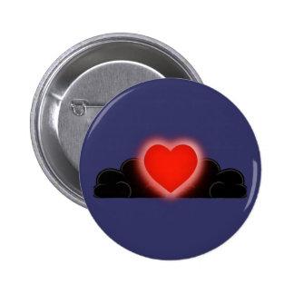 El amor es una luz en la oscuridad - corazón rojo