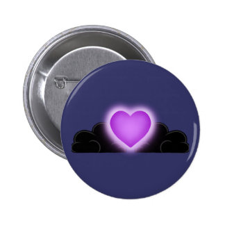 El amor es una luz en la oscuridad - Purple Heart Pins