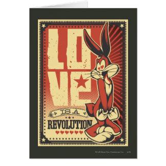 El amor es una revolución felicitación