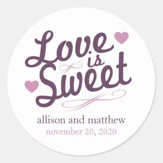 El amor es vieja etiqueta dulce de Fashioined