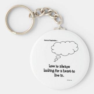 El amor está buscando siempre un corazón: Llavero