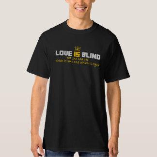 el amor está ciego playera