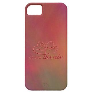 """El """"amor está en caja del aire"""" para el iPhone Funda Para iPhone 5 Barely There"""