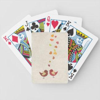 El amor está en el aire barajas de cartas